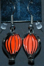 Earrings RedOrange